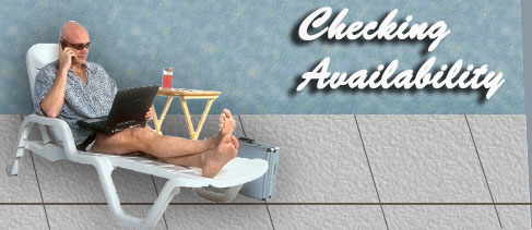 take it easy and check availability online from anyplace in the world